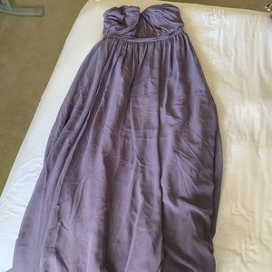 Alfred Angelo Purple bridesmaids dress